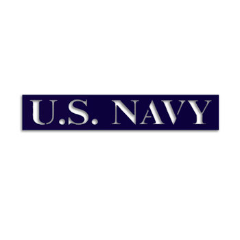 Memories In Uniform - Laser Cut - US Navy Title