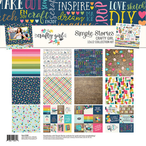 Simple Stories - Crafty Girl Collection - 12 x 12 Collection Kit