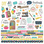 Simple Stories - Crafty Girl Collection - 12 x 12 Cardstock Stickers - Combo