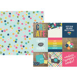 Simple Stories - Crafty Girl Collection - 12 x 12 Double Sided Paper - 4 x 4 Elements