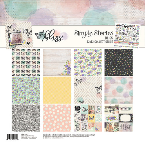 Simple Stories - Bliss Collection - 12 x 12 Collection Kit