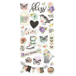 Simple Stories - Bliss Collection - Chipboard Stickers