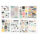 Simple Stories - Bliss Collection - Cardstock Stickers