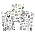 Simple Stories - Bliss Collection - Clear Stickers