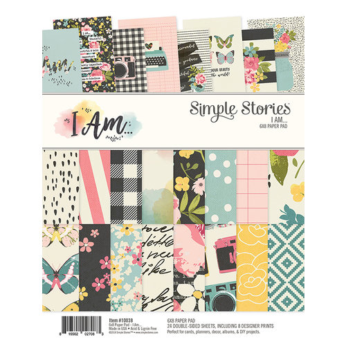 Simple Stories - I Am Collection - 6 x 8 Paper Pad