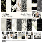 Simple Stories - Always and Forever Collection - 12 x 12 Collection Kit with Foil Accents