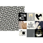 Simple Stories - Always and Forever Collection - 12 x 12 Double Sided Paper - 4 x 4 Elements