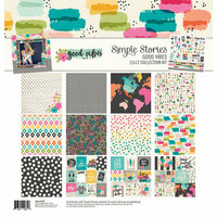 Simple Stories - Good Vibes Collection - 12 x 12 Collection Kit