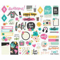 Simple Stories - Good Vibes Collection - Bits and Pieces