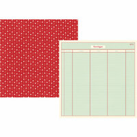 Simple Stories - Travel Notes Collection - 12 x 12 Double Sided Paper - Travelogue