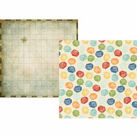 Simple Stories - Travel Notes Collection - 12 x 12 Double Sided Paper - Go See Do