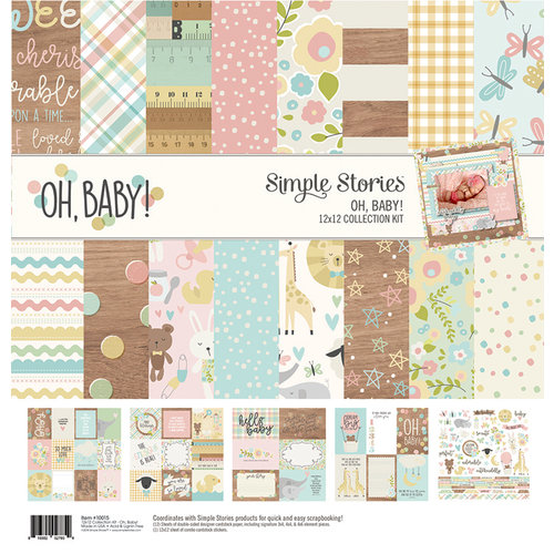 Simple Stories - Oh, Baby Collection - 12 x 12 Collection Kit
