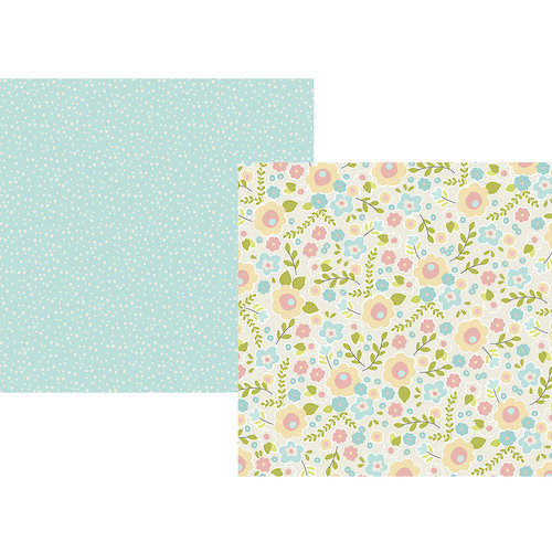 Simple Stories - Oh, Baby Collection - 12 x 12 Double Sided Paper - Sweet Dreams
