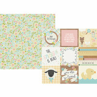 Simple Stories - Oh, Baby Collection - 12 x 12 Double Sided Paper - 4 x 4 Elements