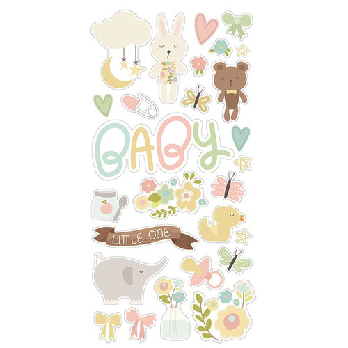 Simple Stories - Oh, Baby Collection - Chipboard Stickers
