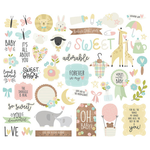 Simple Stories - Oh, Baby Collection - Bits and Pieces