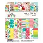 Simple Stories - Hello Summer Collection - 6 x 8 Paper Pad