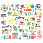 Simple Stories - Hello Summer Collection - Bits and Pieces