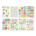 Simple Stories - Hello Summer Collection - Cardstock Stickers