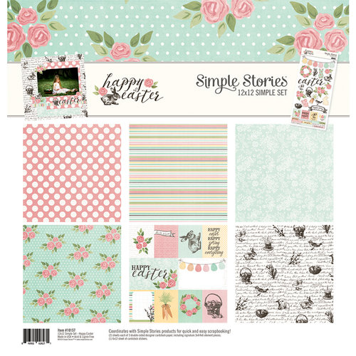 Simple Stories - Happy Easter Collection - 12 x 12 Collection Kit