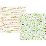 Simple Stories - Mama Llama Collection - 12 x 12 Double Sided Paper - Oh Llama