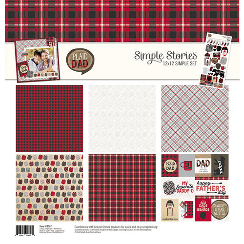 Simple Stories - Plaid Dad Collection - 12 x 12 Collection Kit