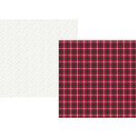 Simple Stories - Plaid Dad Collection - 12 x 12 Double Sided Paper - Rad Plaid