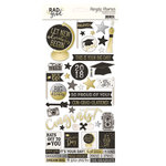 Simple Stories - Rad Grad Collection - Cardstock Stickers