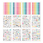 Simple Stories - Carpe Diem - A5 Sticker Tablet - Calendar