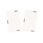 Simple Stories - Carpe Diem - Personal Divider Templates