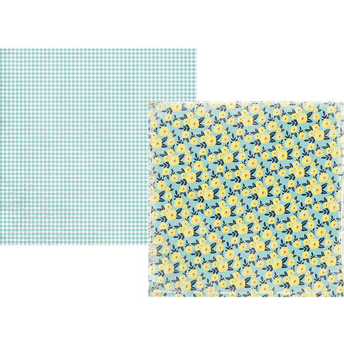 Simple Stories - Welcome Spring Collection - 12 x 12 Double Sided Paper - Shine Bright