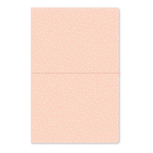 Carpe Diem - Traveler's Notebook - Blush Speckle