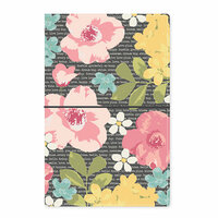 Carpe Diem - Traveler's Notebook - Typewriter Floral