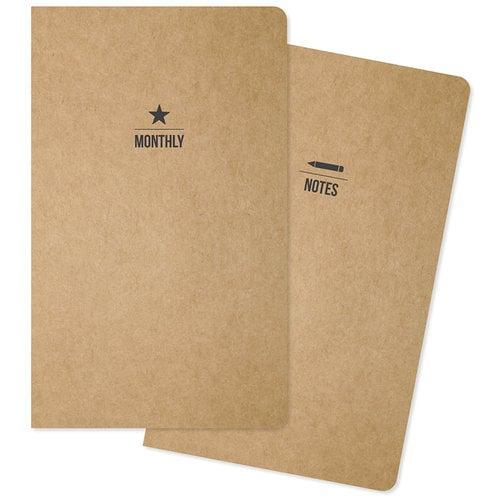 Carpe Diem - Traveler's Notebook - Inserts - Monthly - Undated