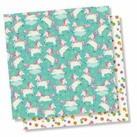 Simple Stories - Dream Big Collection - 12 x 12 Double Sided Paper - Just Imagine