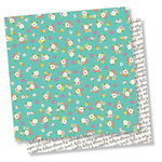 Simple Stories - Dream Big Collection - 12 x 12 Double Sided Paper - Super Cute