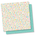 Simple Stories - Dream Big Collection - 12 x 12 Double Sided Paper - Dream Big