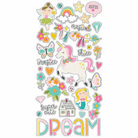 Simple Stories - Dream Big Collection - Chipboard Stickers