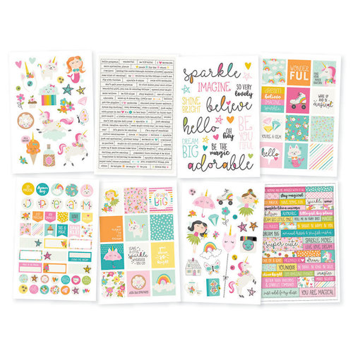 Simple Stories - Dream Big Collection - Cardstock Stickers