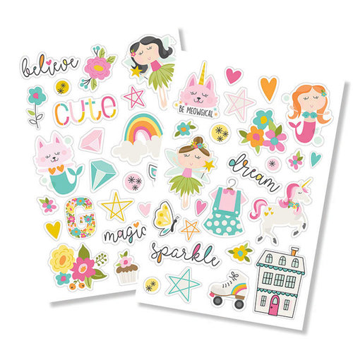 Simple Stories - Dream Big Collection - Puffy Stickers