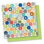 Simple Stories - Lil' Dude Collection - 12 x 12 Double Sided Paper - Boys Rule