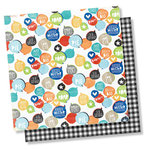 Simple Stories - Lil' Dude Collection - 12 x 12 Double Sided Paper - Hear Me Roar