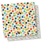 Simple Stories - Lil' Dude Collection - 12 x 12 Double Sided Paper - Little Man