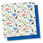 Simple Stories - Lil' Dude Collection - 12 x 12 Double Sided Paper - No Limits