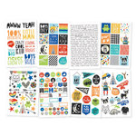 Simple Stories - Lil' Dude Collection - Cardstock Stickers