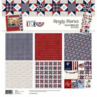 Simple Stories - Hometown USA Collection - 12 x 12 Collection Kit