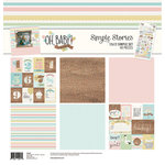 Simple Stories - Oh Baby Expecting Collection - 12 x 12 Collection Kit