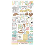 Simple Stories - Oh Baby Expecting Collection - Cardstock Stickers