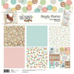 Simple Stories - Oh Baby Adoption Collection - 12 x 12 Collection Kit