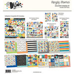 Simple Stories - Lil' Dude Collection - 12 x 12 Collector's Essential Kit